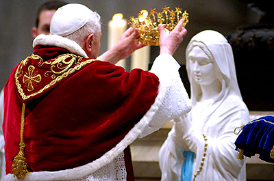 Pope Pius XII, commemorating the hundredth anniversary of the Immaculate conception dogma